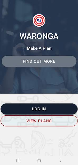 Step 2 - Select user type